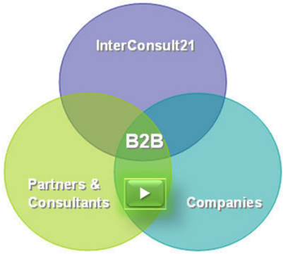 Business 2 Business. Merging InterConsult21, Companies, Partners and Consultants.